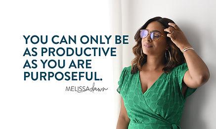 Melissa Dawn Quote