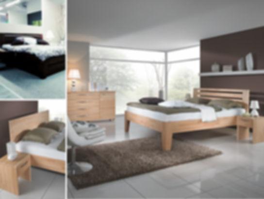 Спальня из массива бука JUKII, производство Чехия, фабрика JITONA