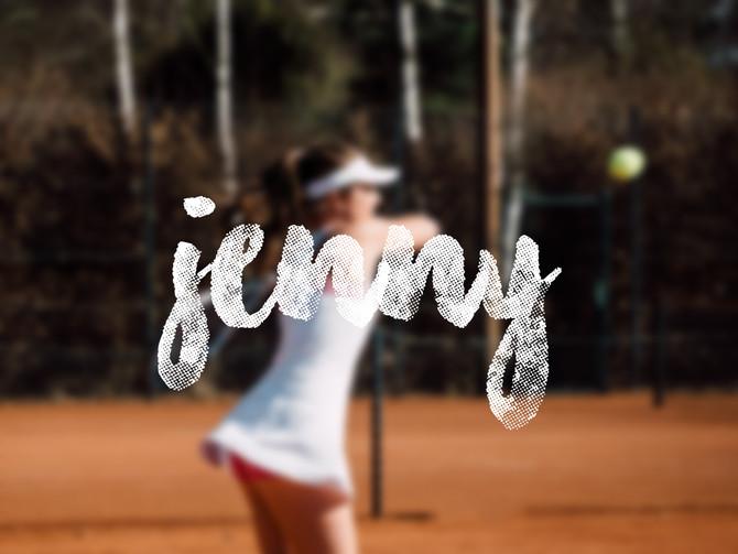 Sportler: Tennisspielerin