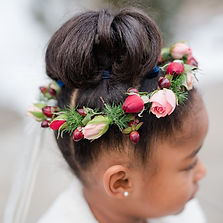 Floral Design of Europe flower crown for flower girl