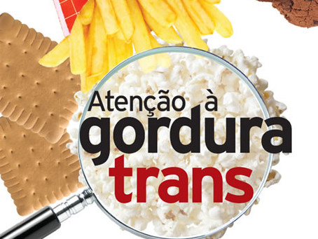 Gordura Trans pode trazer problemas de memória!