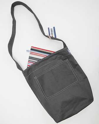 Market Bag_Charcoal Grey