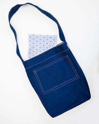 Market Bag_Deep French Blue