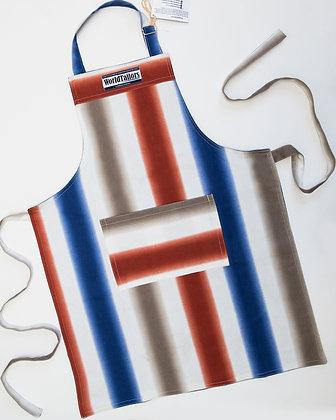 Multi Stripe Master Cook Apron