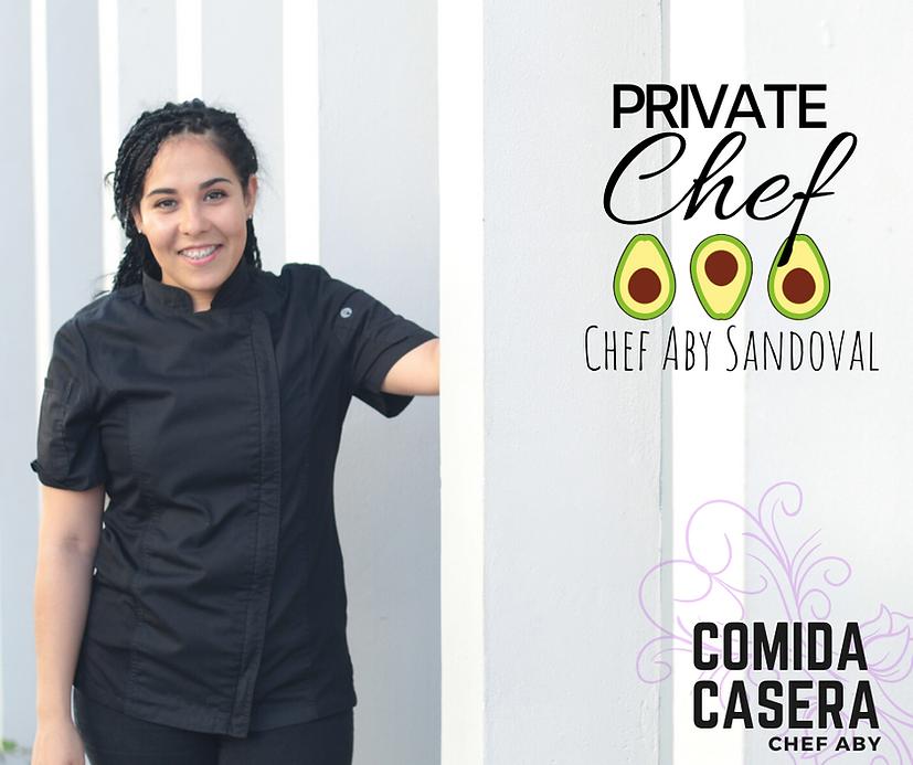 private chef paya del carmen, chef abigail sandoval
