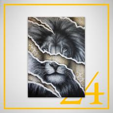 """""""Golden Lion"""" - Noir Artist"""