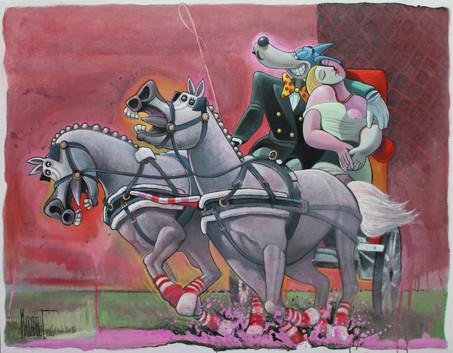 Attelage de Rêve (Tex Avery x Picasso)