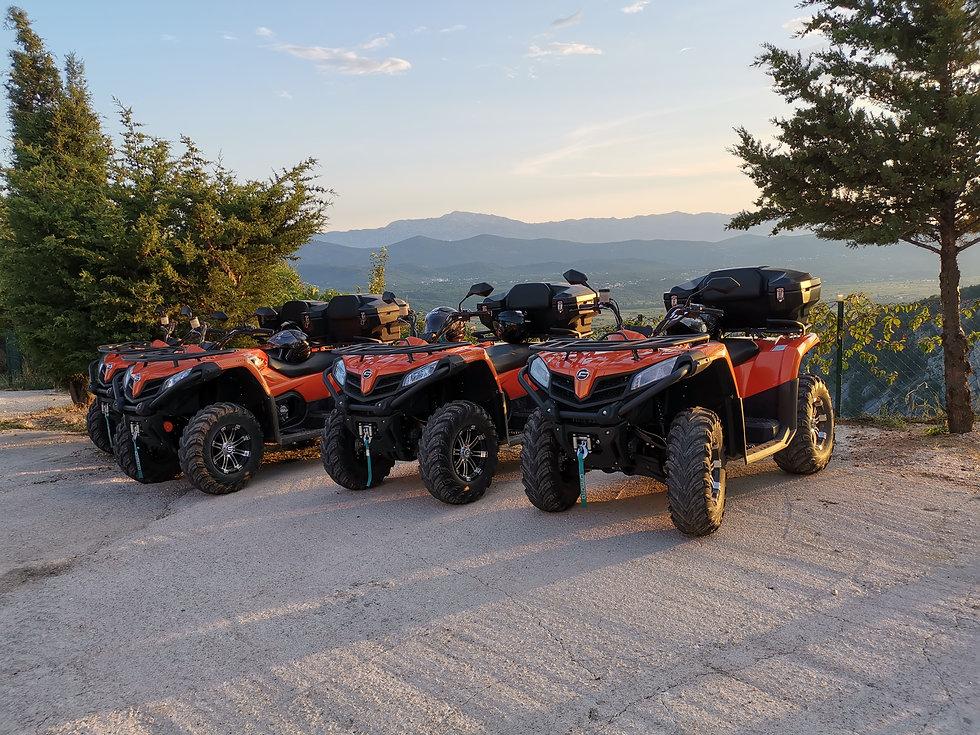quad bikes in Imotski