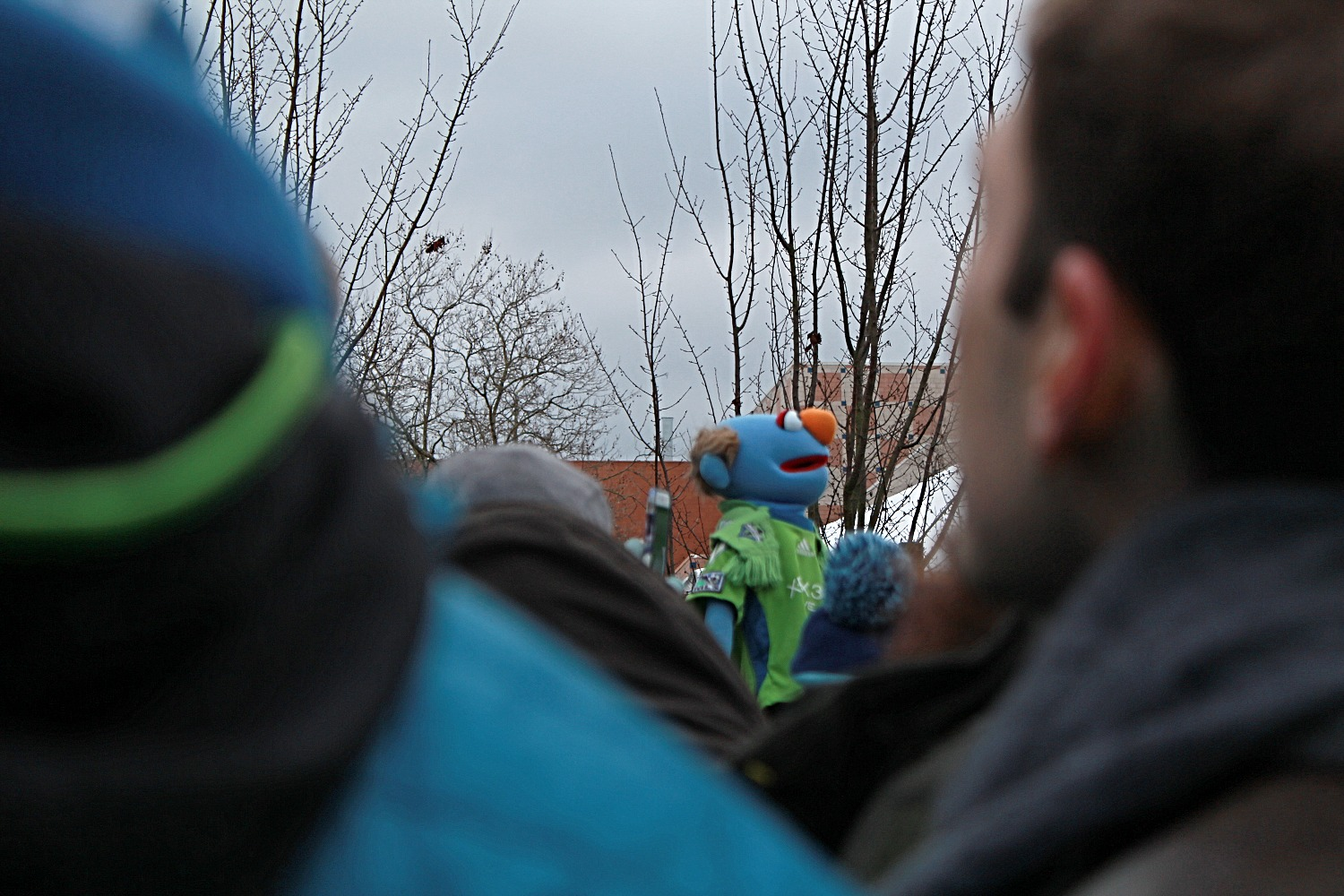 The Sounders muppet