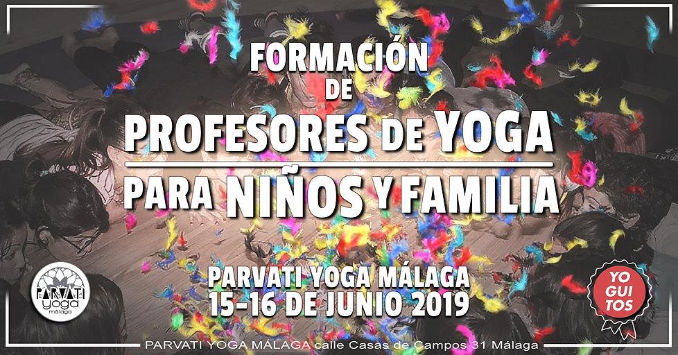 Formación de Profesores de Yoga para niños y familia