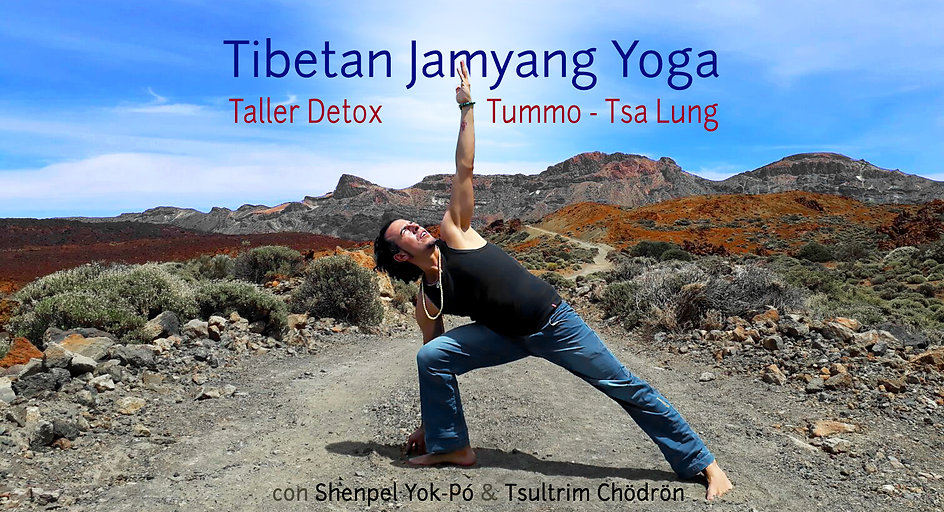 Taller Detox Tummo / Tsa Lung