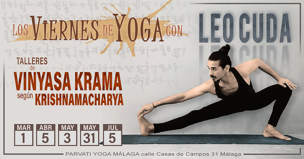 Fridays of Krama Vinyasa Yoga