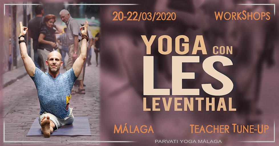 Talleres de Yoga con Les