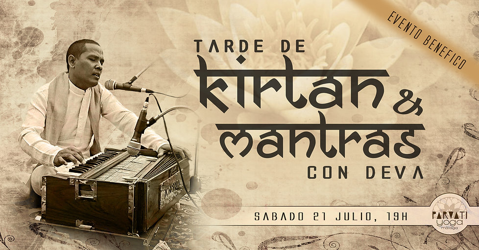 An afternoon of Kirtan and Mantras