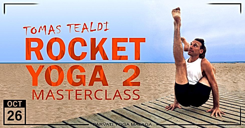 Rocket Yoga 2 Masterclass