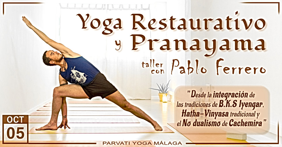 Yoga Restaurativo y Pranayama