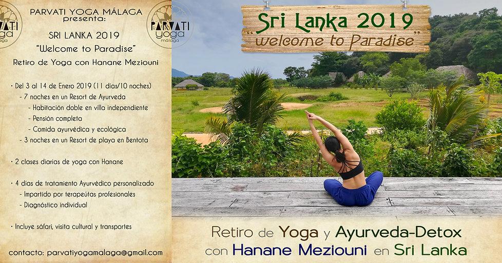 "Retiro Sri Lanka 2019: ""Welcome to Paradise"""
