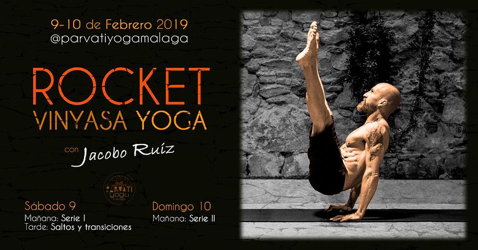 Taller de Rocket Vinyasa Yoga
