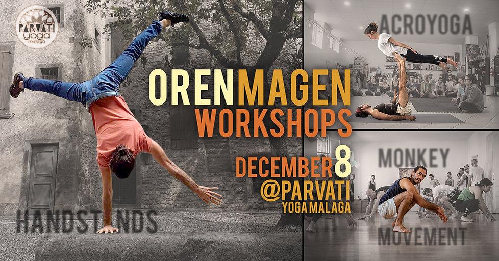 AcroYoga+Handstands / Monkey Movement Workshops