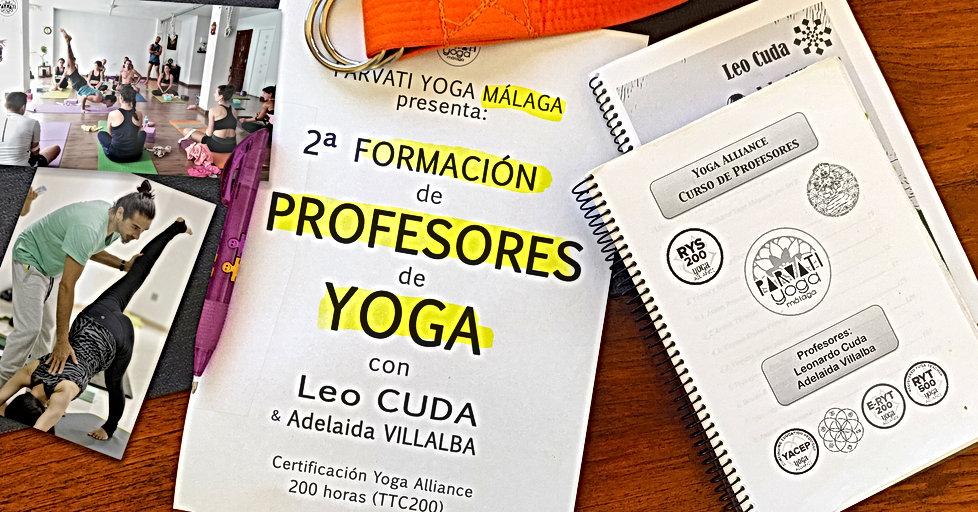 Formación de Profesores de Yoga y Desarrollo Personal TTC200