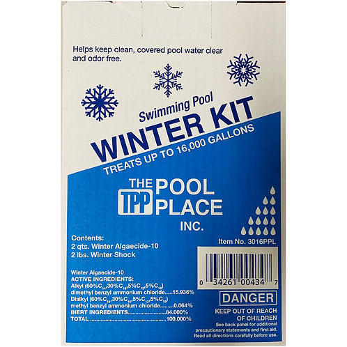 Standard Winter Kit - Treats up to 16,000gal