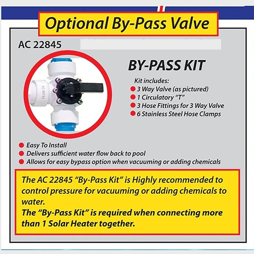 Optional Bypass kit for Solar Heat H2O Heater