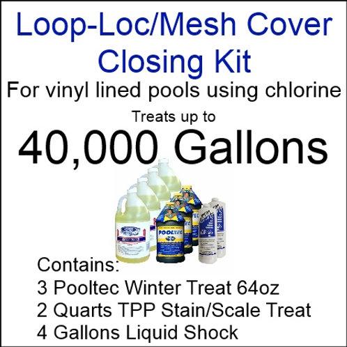 Pooltec Kit 40,000gal - Vinyl/Fiberglass Pool with Chlorine