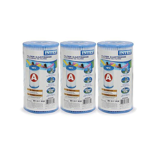"Intex Replacement Cartridge ""A"" 3-pack"