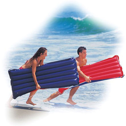 """Red and Blue Canvas Surf Rider 60"""""""