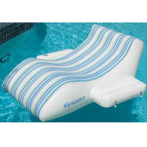 Luxury Lounger™ includes electric pump