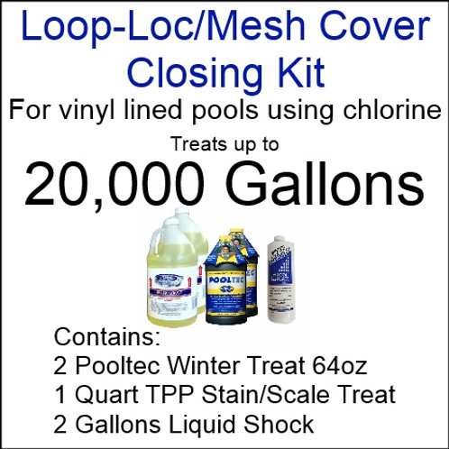 Pooltec Kit 20,000gal - Vinyl/Fiberglass Pool with Chlorine