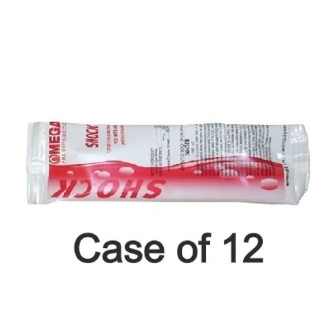 12 Pack Omega Shock 68% Calcium Hypochlorite