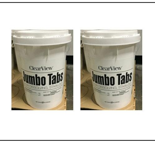 "3"" Jumbo Tablets 50 pounds"