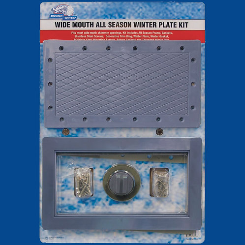 Old Man Winter™ All-Season Skimmer Kit (Wide Mouth)