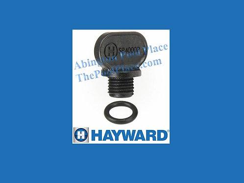 "Standard 1/4"" NPT Drain Plug & Gasket - ThumbScrew"
