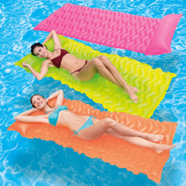 Pack of 3 Tote-N-Float® Wave Mats (Pink, Yellow and Orange)