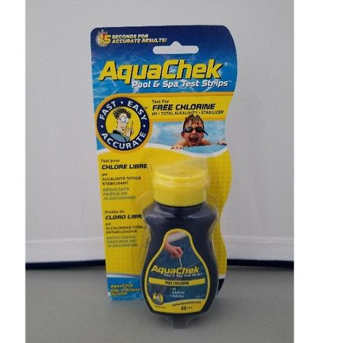 Chlorine Yellow Test Strips AquaChek