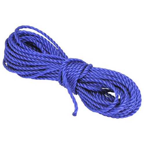 50' Blue Poly Rope