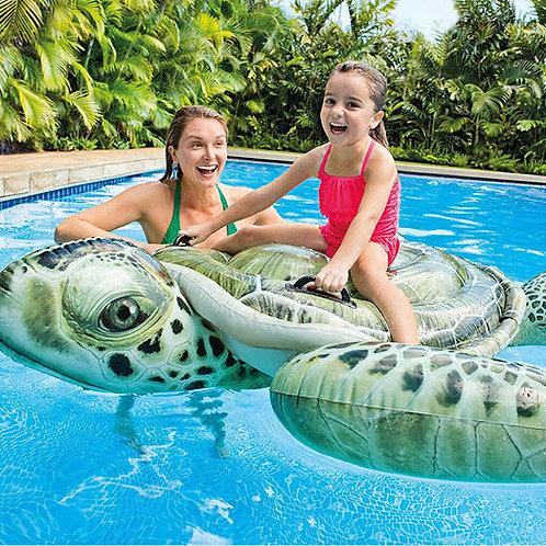 "Realistic Sea Turtle Ride-On 75"""
