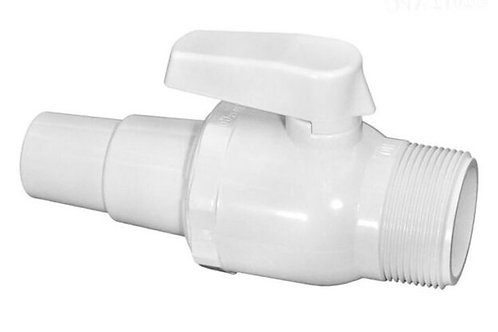 Hayward Ball Valve - Male Thread x Hose