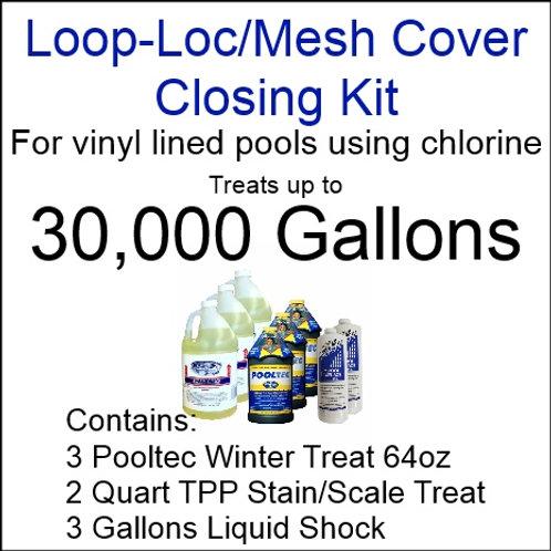 Pooltec Kit 30,000gal - Vinyl/Fiberglass Pool with Chlorine