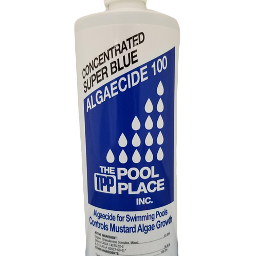 TPP Super Blue Algaecide 100 quart