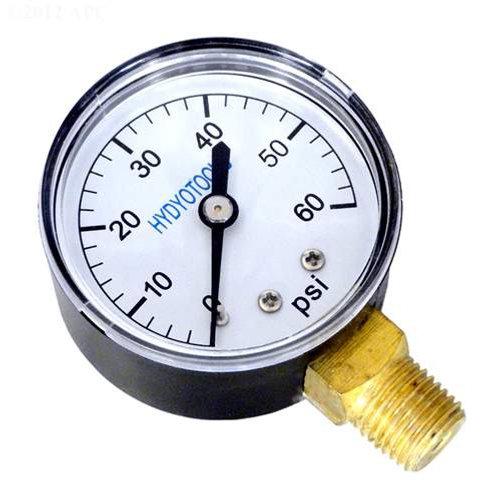 Pressure Gauge (side-mount)