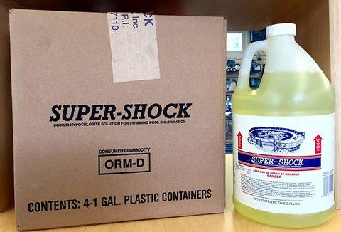 Liquid Shock Case - 4 Gallons