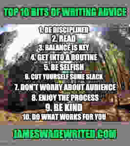 List of writing tips