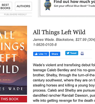 All Things Left Wild Book Cover and Review