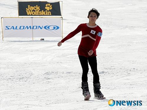 장호찬 스키에이터 김연아 퍼포먼스