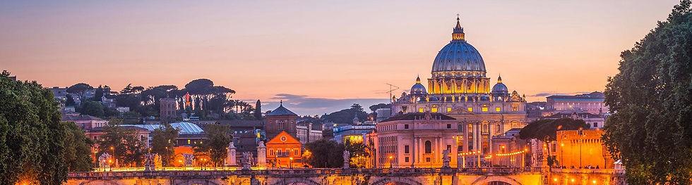 View-Of-Rome-Skyline-Basilica-St-Peter-B