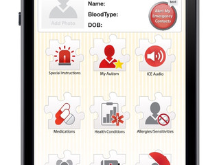 ICE4Autism Mobile App Can Improve Emergency Care for People with ASD