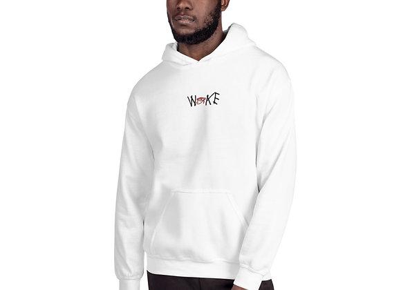 Embroidery Woke Unisex Hoodie